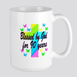 90TH PRAYER Large Mug